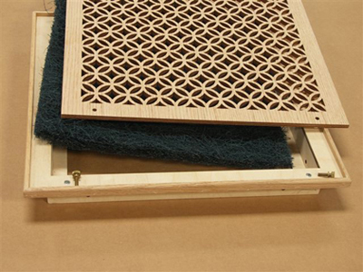 Return Air Filter Grilles Laser Cut Patterns
