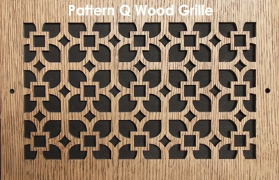 Custom Air Vent Covers Wood Vent Covers Patterncut