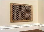 Laser Cut Decorative Wood Grilles, Panels and Moldings