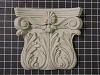 Acanthus Leaf Capitol with Small Shell - 9-1/2