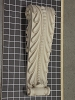 Acanthus Leaf Corbel with Beads - 4-7/8