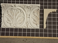 Acanthus Leaf Crown - 8' L x 5