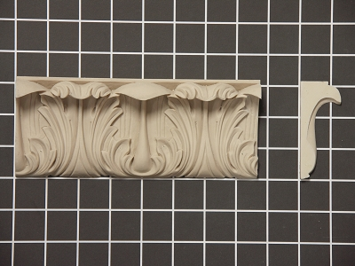 Add Old Style Charm to Any Room in the House by Installing Flex Crown Molding from Pattern Cut