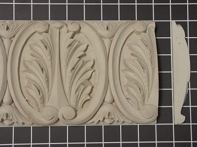 Acanthus Leaf Repeat - 8' L x 6