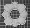 Acanthus Leaf Medallion with Open Center - 17