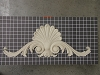 Acanthus Swags with Shell Center Piece - 23-1/2