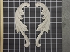 Left and Right Acanthus Swags - 8-3/4
