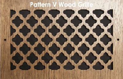 Our Wood Grilles Offer Exceptional Details for Any Taste