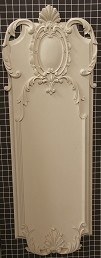 "Acanthus Style Panel - 15"" W x 43-1/8"" H x 1-3/8"" Thick - Architectural Decoration"