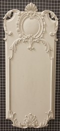 "Acanthus Style Panel - 19-1/4"" W x 44-1/8"" H x 1-1/2"" Thick - Architectural Decoration"
